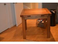 Expandable Kitchen table. Excellent quality- John Lewis, solid oak. 4- 8 seater.