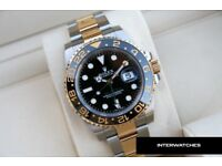 Rolex GMT Master II 116713 Gold Two Tone Stainless Steel
