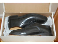 New Mens Formal Black Leather Shoes
