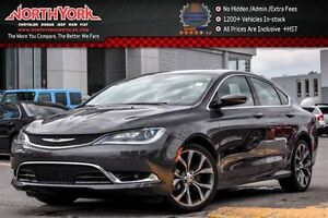 2016 Chrysler 200 C|Sun/SoundPkg|PanoSunroof|Nav|AlpineSpkrs|Bac