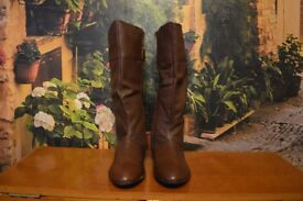 Brand New Evans Boot Real Leather For Ladies