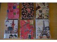 "300 Bulk sale of 7"" and 10"" tablet covers in multiple designs"