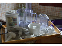 Braun Food Processor complete with all attachments and full instructions and recipe book
