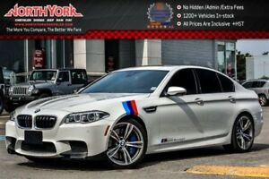 2014 BMW M5 Exec.,Driver Assist+ Pkgs|Sunroof|Leather|H/K Audi