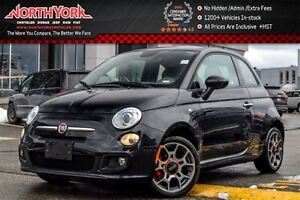 2015 Fiat 500 Sport Leather|Bluetooth|AC|Clean CarProof|Power Op