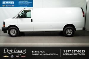 2017 CHEVROLET EXPRESS CARGO 2500 LONG,CLIMATISATION,