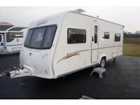 2007 BAILEY SENATOR INDIANA 4-BERTH FIXED BED MOTOR MOVER EXCELLENT CONDITION