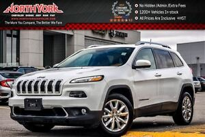 2016 Jeep Cherokee Limited Leather|Pano_Sunroof|Nav|Backup Cam|R