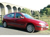 RENAULT MEGANE 1.6 DYNAMIQUE, LOW MILEAGE, PRISTINE CONDITION INSIDE AND OUT, DRIVES WELL
