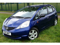 NEW SHAPE HONDA JAZZ I-VTEC 1.2 PETROL, 5 DOORS, FULL SERVICE HISTORY, LOW MILEAGE, ONE OWNER