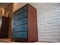 """BARCELONA""- SIDEBOARD , CHEST OF DRAWERS , SHABBY CHIC, VINTAGE,RETRO,solid wood (free delivery)"