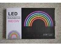 NEW Neon Rainbow LED Light Battery USB