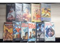 90's VHS Made in HK martial arts lot