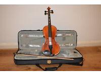 giovanni hidersine 2/4 violin in very good condition