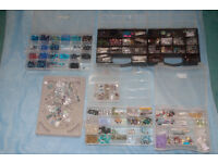 Assortment of Beads, Fastenings, Fixings and Findings