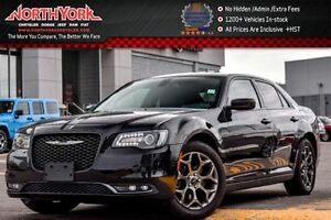2016 Chrysler 300 S AWD|Nav|Pano_Sunroof|Leather|Beats Audio|R.S
