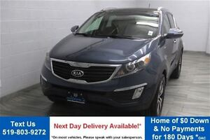2012 Kia Sportage AWD EX w/ LUXURY PKG! LEATHER! PANORAMIC SUNRO