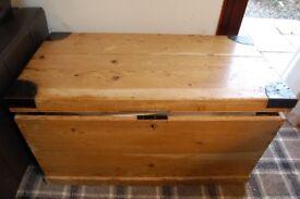 vintage victorian blanket box