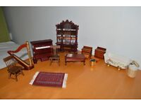 Dolls House Furniture Lot 3