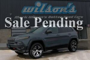 2014 Jeep Cherokee TRAILHAWK 4WD! NAVIGATION! LEATHER! BLUETOOTH