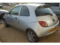 Ford Ka - Perfect for Any spares - Mot failure on welding and two front brake pipes