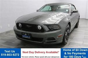2014 Ford Mustang GT CONVERTIBLE! 6-SPEED! NAVIGATION! LEATHER!