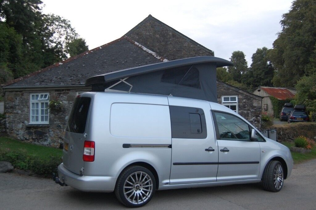 vw caddy maxi 1 9 tdi camper 2009 t5 alternative great. Black Bedroom Furniture Sets. Home Design Ideas