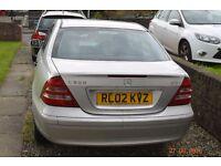 2002 Mercedes C220 cdi Tiptronic