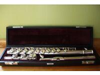Yamaha Flute 411 Silver D25356