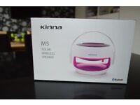 New Kinna M5 Solar Wireless Speaker 0413L