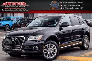 2016 Audi Q5 2.0T Progressiv|Quattro|Nav|Leather|Backup Cam w/P