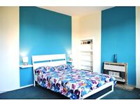 Newly refurbished big double room at Granton all bills included