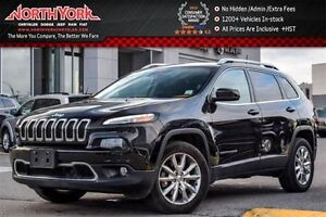 2016 Jeep Cherokee Limited 4x4 SafetyTec,Tech,Luxury Pkgs R-Star