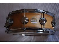 """Drum Workshop DW Ten and Six All Maple snare drum 14 x 5"""" - USA - 2006 - NOS"""