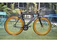 "Brand new NOLOGO ""X"" TYPE single speed fixed gear fixie bike/ road bike/ bicycles + 1year warranty 4"