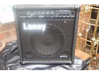 ACOUSTIC BASS PLUS LANEY BASS AMPLIFIER
