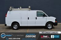 2008 Chevrolet Express 2500  4.8l v8 ~ Shelving, Ladder Rack