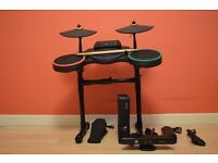 XBOX 360 4GB KINECT Console with 9 Games and REDOCTANE Wireless Drum Controller with Stand