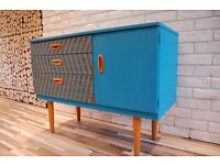 RAYO -SIDEBOARD , DRESSER TABLE WITH MIRROR , DRAWERS, SHABBY CHIC, VINTAGE,free delivery