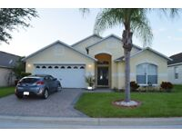 Florida villa, sleeps 8. 4 Bedrooms, Pool/Spa, Games room.( WE HAVE 21 JUL TO 4TH AUG 18 AVAILABLE)