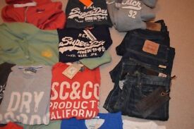 Mens jeans - Levi's / Abercrombie A&F / Hollister - all brand new with tags BNWT or nearly new