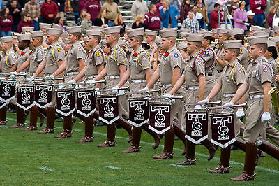 Final Review 2018   Texas A M Aggie Band And Cadet Corps   First And Second Pass