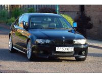 ** BMW 320 Ci M Sport Coupe Black e46 ** 2003 Xenon Manual Facelift RARE Harman Kardon **