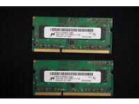 Micron 4gb (2x2gb) Pc3-12800 Macbook Pro Ram Memory Mt8jtf25664hz-1g6m1