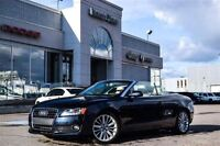 2012 Audi A5 2.0L Premium+ Convertible Quattro Leather 18 Alloy