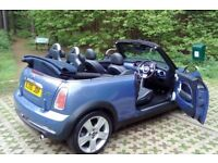 06 Mini Cooper Convertible, 2 Lady Owners, Recent MOT, FSH, Super Inside & Out, Low Mileage