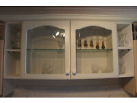 Wall Mounted Glass Display Cabinet