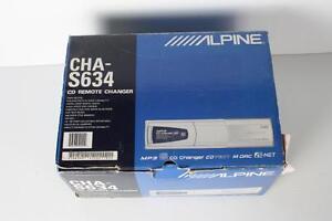 Radio pour auto a 6 CD Alpine (A002221)