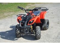 BRAND NEW 800W KIDS QUAD BIKE ATV IN RED FORWARD AND REVERSE GEAR OFF ROAD