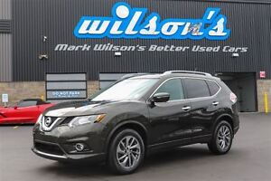 2015 Nissan Rogue SL AWD! LEATHER! NAVIGATION! PANORAMIC SUNROOF